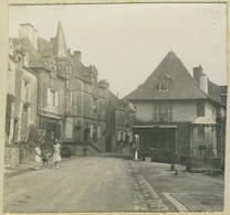 Stéréo Amateur. Maisons Anciennes à Rochefort-en-Terre (Morbihan). Bretagne. 1928. - Stereoscoop