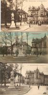 Bruxelles : Le Monument Renard --- 3 Cp - Ixelles - Elsene