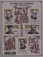Année : 2010 150 E Anniversaire De La Bourse Aux Timbres N° Yvert Et Tellier : 4447 à 4451 Feuillet  N° : 4447 à 4451 - Ohne Zuordnung