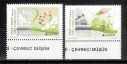 Türkisch-Zypern / Turkish Republic Of Northern Cyprus / Chypre Turc 2016 Satz/set EUROPA ** - 2016