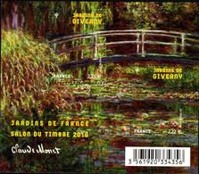 Année : 2010 Salon Du Timbre 2010 « Jardins De France : Giverny » N° Yvert Et Tellier : 4479 Et 4480 Feuillet  F4479 - Ohne Zuordnung