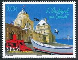 ST-PIERRE ET MIQUELON 2006 - Yv. 866 **   Faciale= 0,53 EUR - L'archipel Au Sénat  ..Réf.SPM12414 - Neufs