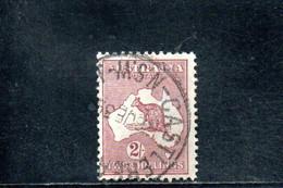 AUSTRALIE 1929-30 O FILIGRANE A V° - Used Stamps