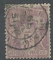 N° 95 OBLITERE - 1876-1898 Sage (Tipo II)