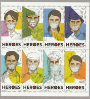 Pilipinas - Philippines, 2020, FrontLine Heroes, 8v. + S/s MNH - Philippines