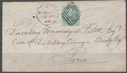 ENVELOPPE INDE 1866 - Sammlungen (ohne Album)