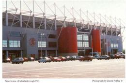 Postcard Stadium Middlesbrough England  Stadion Sports Stade Stadio Estadio Football Soccer Calcio - Calcio