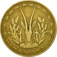 Monnaie, West African States, 5 Francs, 1965, Paris, TTB - Ivory Coast