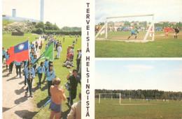 Postcard Small Stadium Helsinki Finland  Stadion Stadio - Estadio - Stade - Sports - Football  Soccer - Fútbol