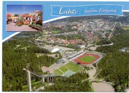 Postcard Stadium Lahti Finland  Stadion Stadio - Estadio - Stade - Sports - Football  Soccer - Fútbol