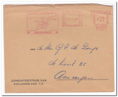 Nederland 1969, Gemeente Kollumerland - Machine Stamps (ATM)