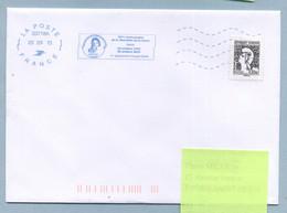 2013 Flamme Bleue Néopost  03718A  70ème Anniversaire De La Libération De La Corse - Mechanical Postmarks (Advertisement)