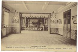 Belgique - FRAMERIES - 1 CP - Pensionnat Des Soeurs De La Providence - Salle Des Fêtes - Frameries