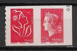 France - 2007 - N°Yv. P139 - Marianne De Cheffer - Paire De Carnet - Neuf Luxe ** / MNH / Postfrisch - Autoadesivi