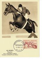 CM FRANCE  1953 SPORT / HIPPISME - 1950-59