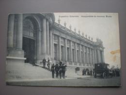 BRUXELLES 1910 - EXPOSITION COLONIALE - INAUGURATION DU NOUVEAU MUSEE - ED. DECOCK - Sin Clasificación