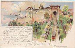 AK OLD POSTCARD LITHO - AUSTRIA - SCHLOSSBERG DRAHISEILBAHN , GRAZ - VIAGGIATA 1905 - D39 - Graz