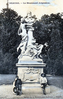 CPA BEAUNE (21) - Le Monument Joigneaux  - Editions Tabakvendejo Esperanto - Beaune