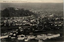 Graz/Steiermark - Graz,   Mit K.k. Montursdepot Im Vordergrund - Graz