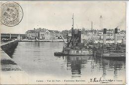 62, Pas De Calais, CALAIS, Vue Du Port - Faubourg Maritime, Scan Recto-Verso - Calais