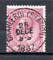 Belgie - Belgique - Capon - Nr 46 - Charleroi (Station) - 1884-1891 Leopold II