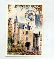 Carte Cachet  Nantes Anniversaire Depot Sncf - Bolli Commemorativi