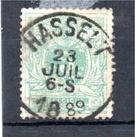 Belgie - Belgique - Lggende Leeuw - Hasselt - 1869-1888 Lying Lion
