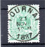 Belgie - Belgique - Lggende Leeuw - Tournai - 1869-1888 Lying Lion