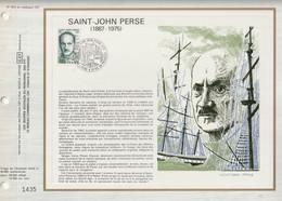 CEF N° 553 - SAINT JOHN PERSE (1887-1975) - 11 Octobre 1980 - POINTE A PITRE - Documents Of Postal Services