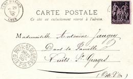 CPA - BOURGES (18) - Cachet T18 De Camp D'avord 1900 - Bourges
