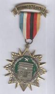 Médaille 412ème BCS Bataillon De Commandement Et De Soutien - Offenburg 1976 - France