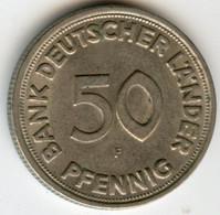 Allemagne Germany 50 Pfennig 1949 F J 379 KM 104 - 50 Pfennig