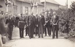 AVEYRON RODEZ MINISTRE RAMADIER ET INAUGURATIN 1936 CARTE PHOTO - Rodez