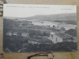 MALLEMORT : Le Pont Et Vallée De La Durance ................ SPDC-873 - Mallemort