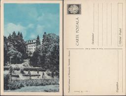 Romania - GOVORA, Pavilionul Balnear Al Ministerului Sanatatii. 1950's, Postal Stationery Postcard. - Entiers Postaux