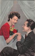 "10950 ""INNAMORATI"" VERA FOTO-CART SPED 1955 - Couples"