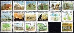 ZIMBABWE / Neufs**/MNH** / 1995/96- Série Courante/Cultures Vivrières,Mines,Monuments - Zimbabwe (1980-...)