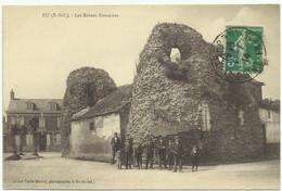 Eu 76 Les Ruines Romaines - Eu