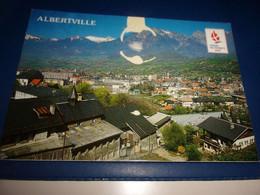 CPA CPSM    SAVOIE ALVERVILLE SAVOIE OLYPIQUE 1992 - Albertville
