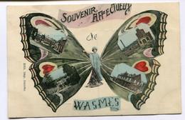 CPA - Carte Postale - Belgique - Wasmes - Souvenir Affectueux De Wasmes (DG15218) - Colfontaine