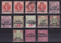 SG 33/36+59 - 1885-1895 Kronenkolonie