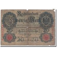 Billet, Allemagne, 20 Mark, 1910, 1910-04-21, KM:40b, B - 20 Mark