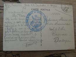 Carte Avec Cachet Poudrerie Nationale De SORGUES - 1939 ................ SPDC-910 - Guerra De 1939-45