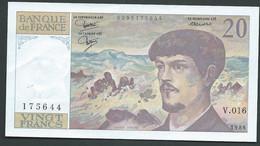 BILLET  FRANCE 20 FRANCS - 1986 - DEBUSSY NEUF PAS DE TROU - 175644 V.016   LAURA 5502 - 20 F 1980-1997 ''Debussy''