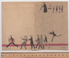 1922 - Collegio San Giuseppe , Torino # 18 Giugno 1922 Programma Musicale E Pranzo ( Distinta -menù) - Historische Documenten