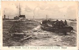 Oostende - Ostende - Reddingssloep - Canot De Sauvetage. 1949 - Oostende