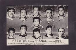 Photo Semi Moderne Football Belgique 1956 - Fussball