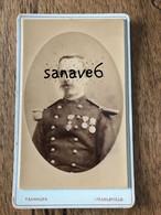 CDV Militaire Officier 91e Infanterie, Légion D'Honneur, Second Empire - Guerra, Militari