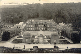 CPA - DAMPIERRE - LE CHATEAU (1928) - Dampierre En Yvelines