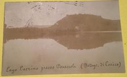 LUCRINO Lago Presso Pozzuoli, Foto Spedita 1924 - Other